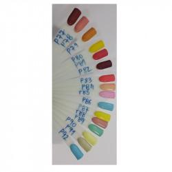 Kit profissional de pinceis para Nail Art - 15 Pinceis